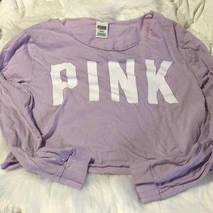 Lavender PINK crop top
